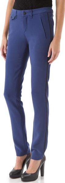 Rag & Bone Eloise Pants in Blue - Lyst