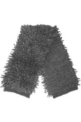 Stella McCartney Fringed Alpaca and Silkblend Scarf - Lyst