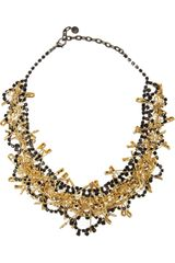 Tom Binns Love Of God Goldplated Swarovski Crystal Necklace - Lyst