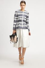 3.1 Phillip Lim Striped Blazer - Lyst