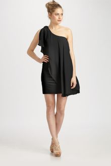 Alice + Olivia Oneshoulder Dress - Lyst