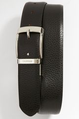 Canali Dollaro Reversible Leather Belt - Lyst