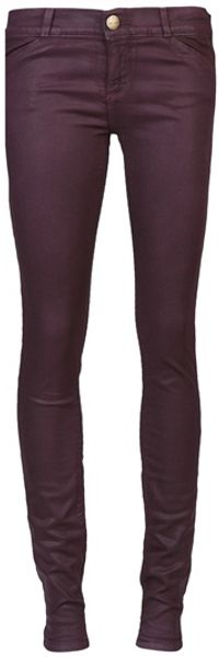 Current/Elliott Coated Huckleberry Jean Legging - Lyst