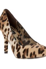 Dolce & Gabbana Pony Hair Stiletto - Lyst
