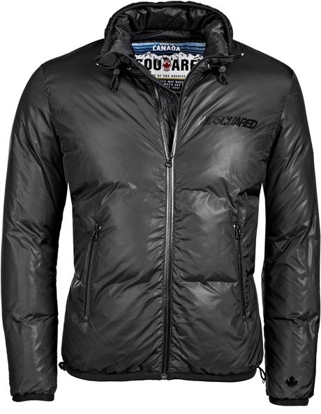 Dsquared2 Jacket Black in Black for Men - Lyst
