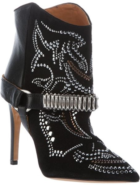 Isabel Marant Milwauke Boot in Black