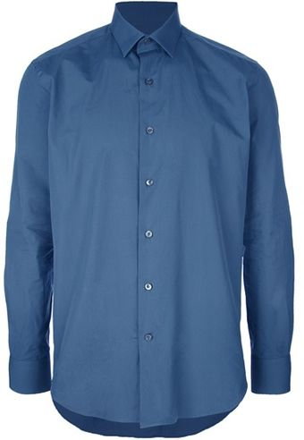 Lanvin Small Collar Shirt - Lyst