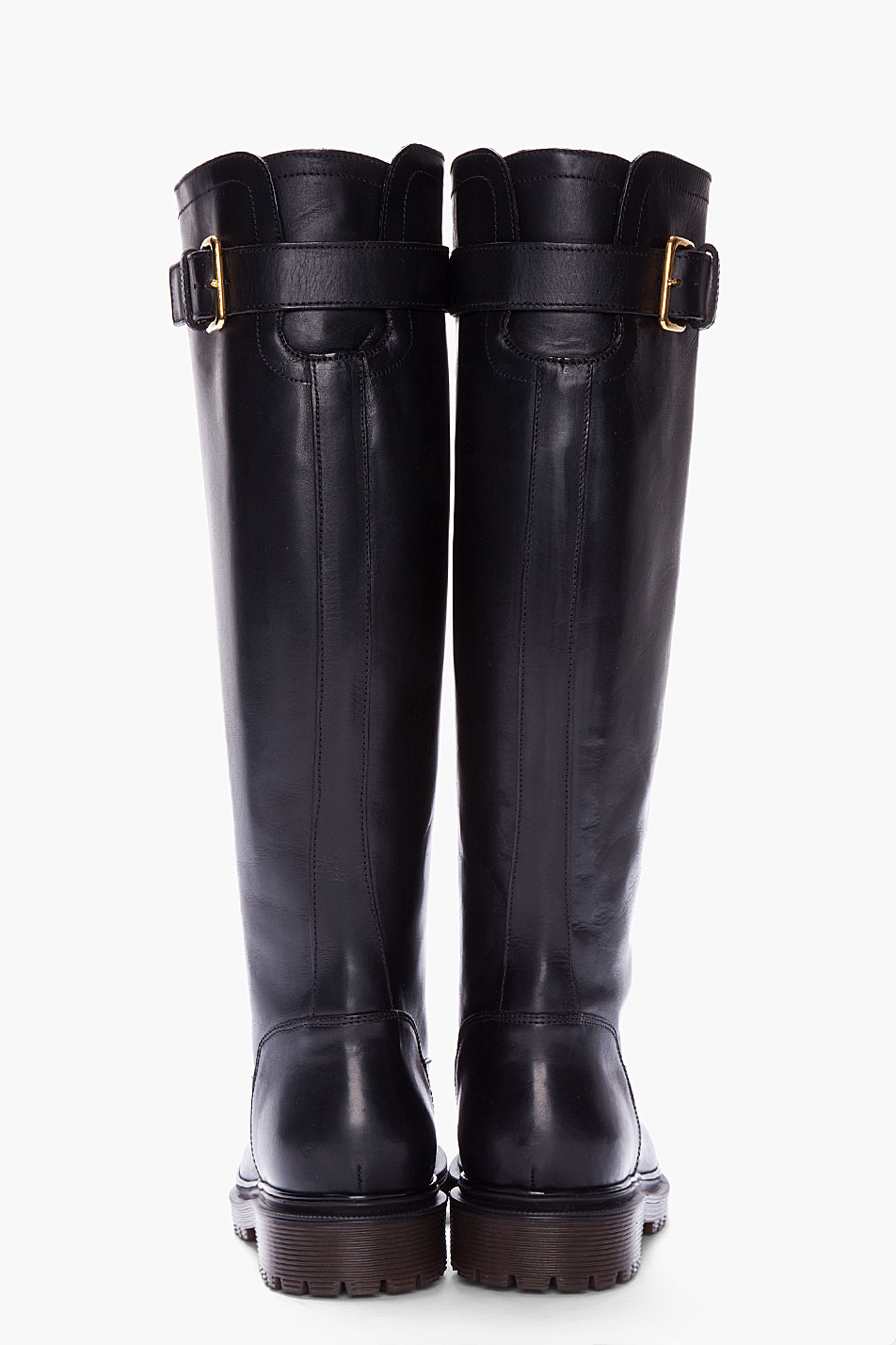 Black Leather Boots For Women | Fashion Boots