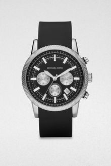 Michael Kors Scout Stainless Steel Chronograph Watch - Lyst