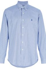 Ralph Lauren Blue Label Stripe Shirt - Lyst