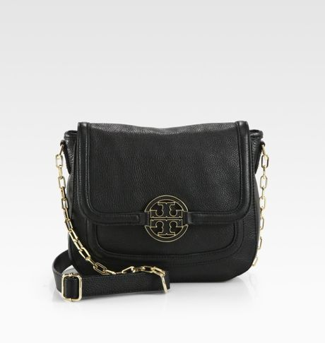 Tory Burch Amanda Crossbody in Black - Lyst