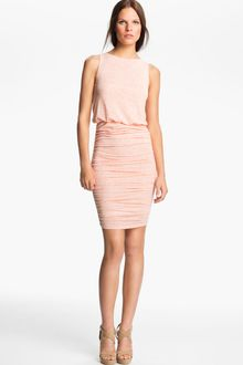 Alice + Olivia Ruched Dress - Lyst