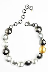 Gurhan Lentil Mixed Metal Station Bracelet - Lyst
