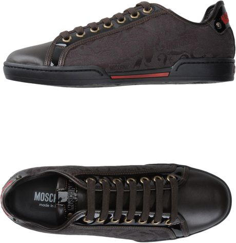 Moschino Sneakers in Brown for Men - Lyst