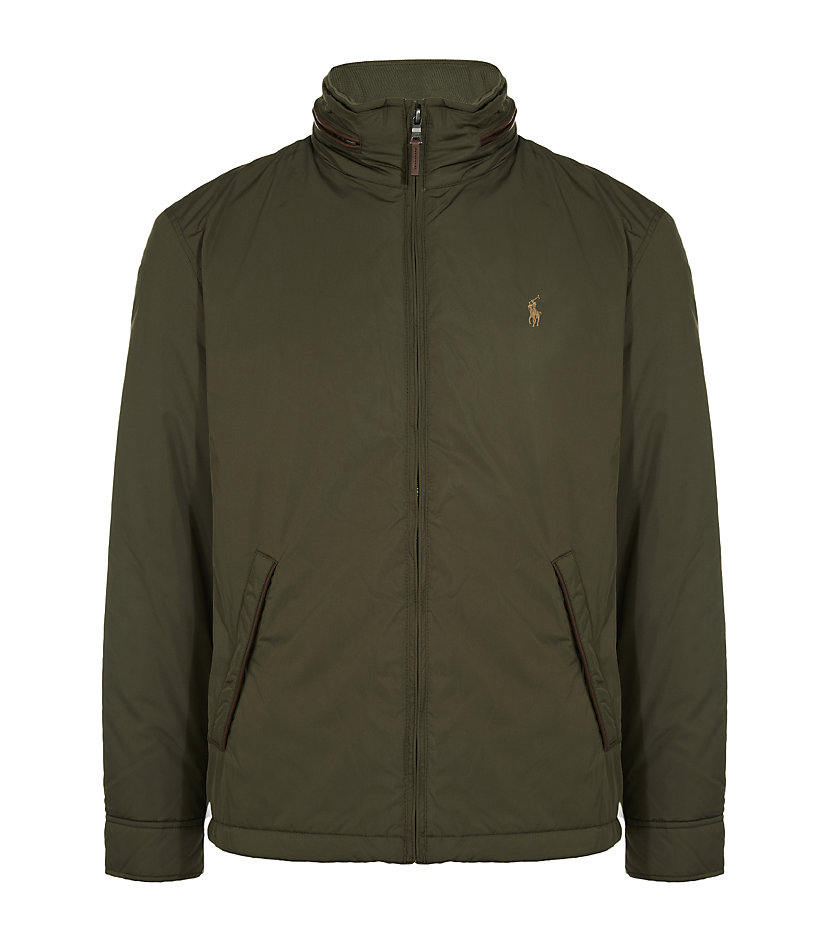 polo ralph lauren stratford windbreaker jacket in green. Black Bedroom Furniture Sets. Home Design Ideas