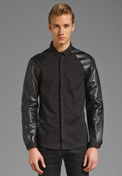 Popular leather sleeve men shirts of Good Quality and at Affordable Prices You can Buy on AliExpress. We believe in helping you find the product that is right for you.