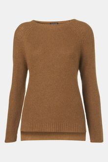 Topshop Ribbed Sweater - Lyst