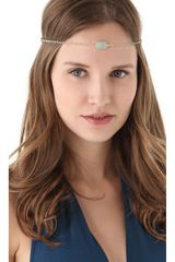 Dauphines Of New York March Birthday Party Headband - Lyst