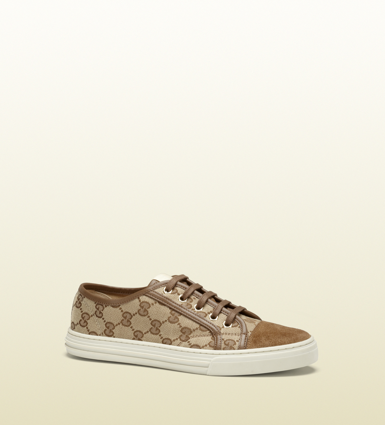 3117f6446ed Lyst - Gucci California Original Gg Canvas Low-top Sneaker in Natural