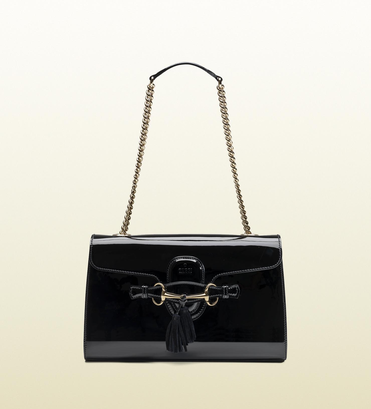 0cb088ae58c4 Gucci Black Patent Leather Purse - Best Purse Image Ccdbb.Org