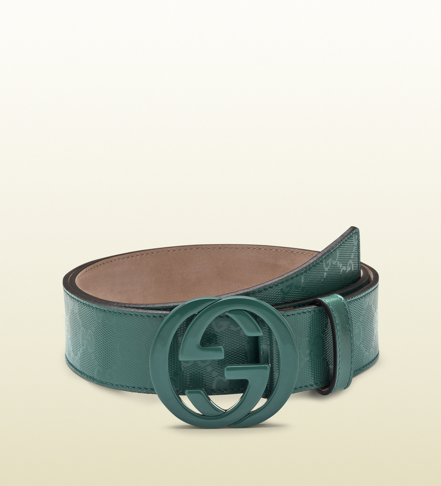 03df83a8e All Green Gucci Belt Image Mesufferersmalta. Crocodile Belt With Double G  Buckle ...