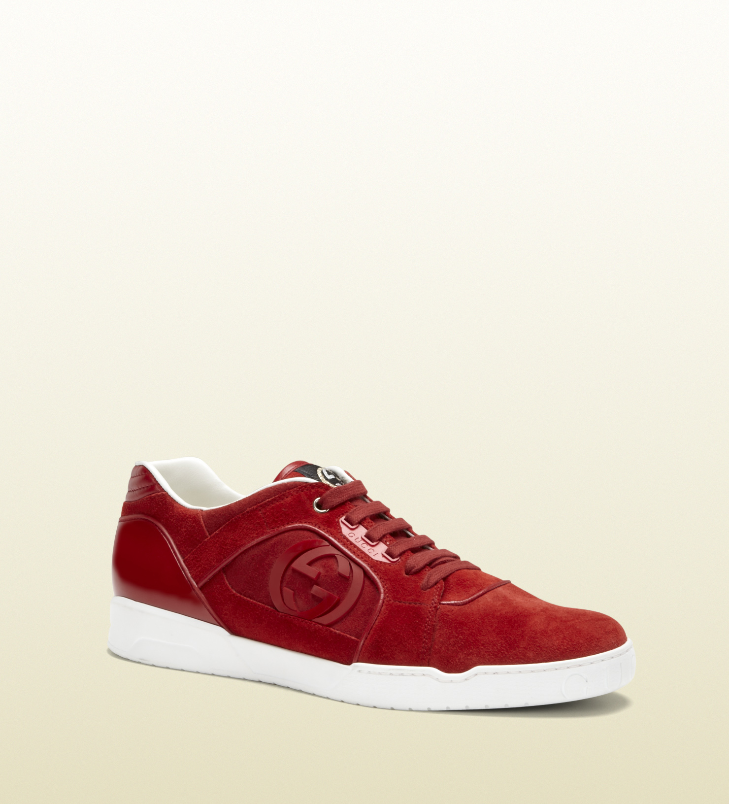 Gucci Leather Lace Up Shoes