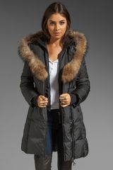 Mackage Kay Fur Trim Down Coat - Lyst
