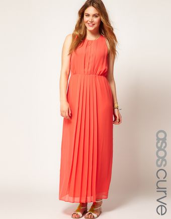 Asos Curve Maxi Dress - Lyst