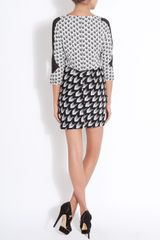 Rag & Bone Gaytatri Print Dress in White (bone) - Lyst