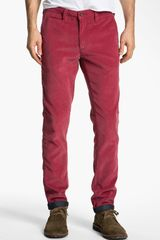 Ted Baker Pitatro Slim Fit Corduroy Pants - Lyst