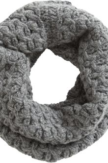 Barneys New York Net Stitch Cowl Scarf - Lyst