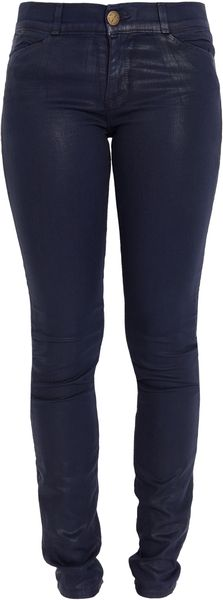 Current/Elliott Coated Jean Legging - Lyst