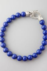 Stephen Webster Beaded Lapis Bracelet 8mm - Lyst