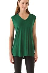 T By Alexander Wang Classic Muscle Tee with Pocket - Lyst