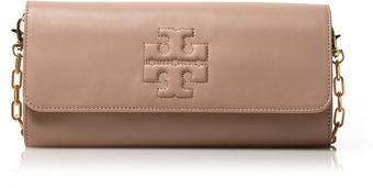 Tory Burch Oversized Bombe Clutch - Lyst