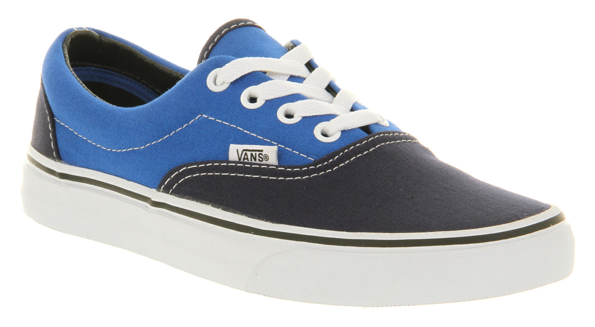 Lyst - Vans Era Dress Blue Victoria Blue in Blue for Men 98525f1890
