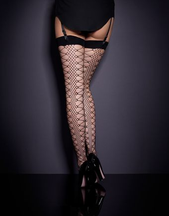 Agent Provocateur Crochet Stocking - Lyst