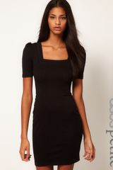 ASOS Collection Asos Petite Exclusive Pencil Dress with Square Neck - Lyst