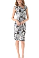 Black Halo Jackie O Printed Dress - Lyst