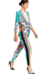 Clover Canyon Prism Orchid Pants in Multicolor (turquoise multi) - Lyst