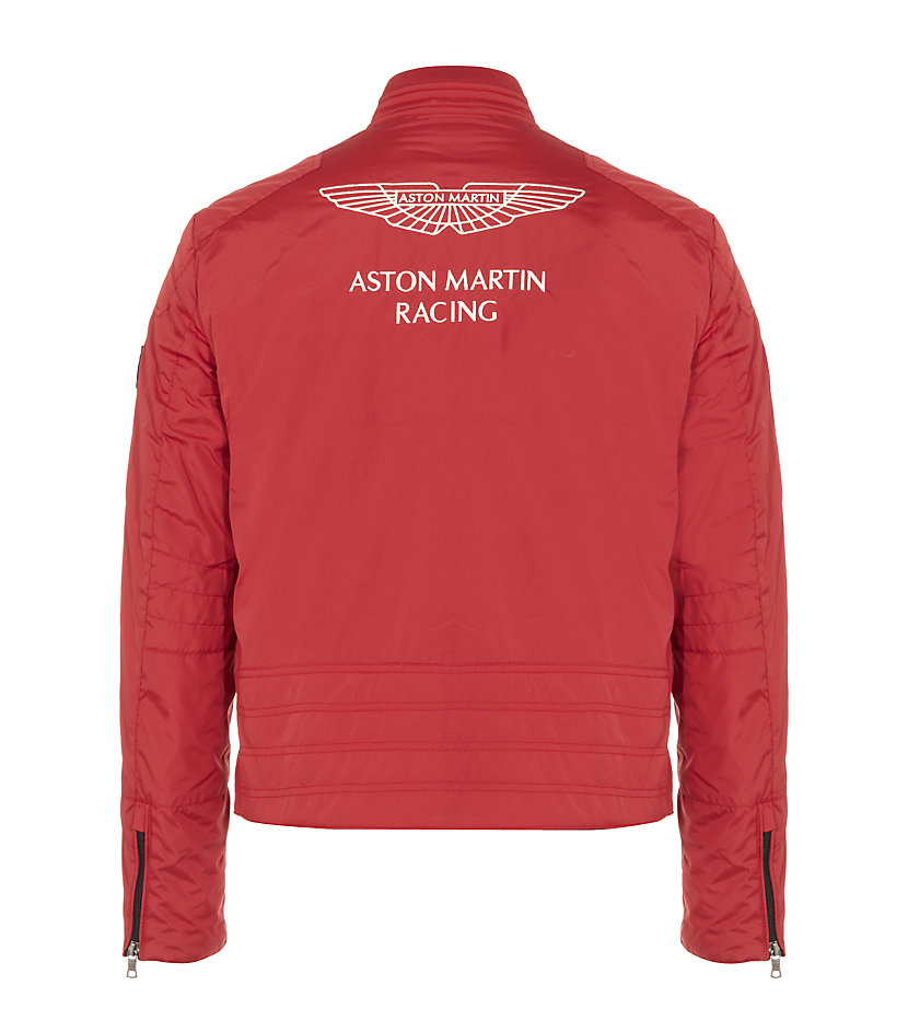 hackett aston martin racing jacket in red for men lyst. Black Bedroom Furniture Sets. Home Design Ideas