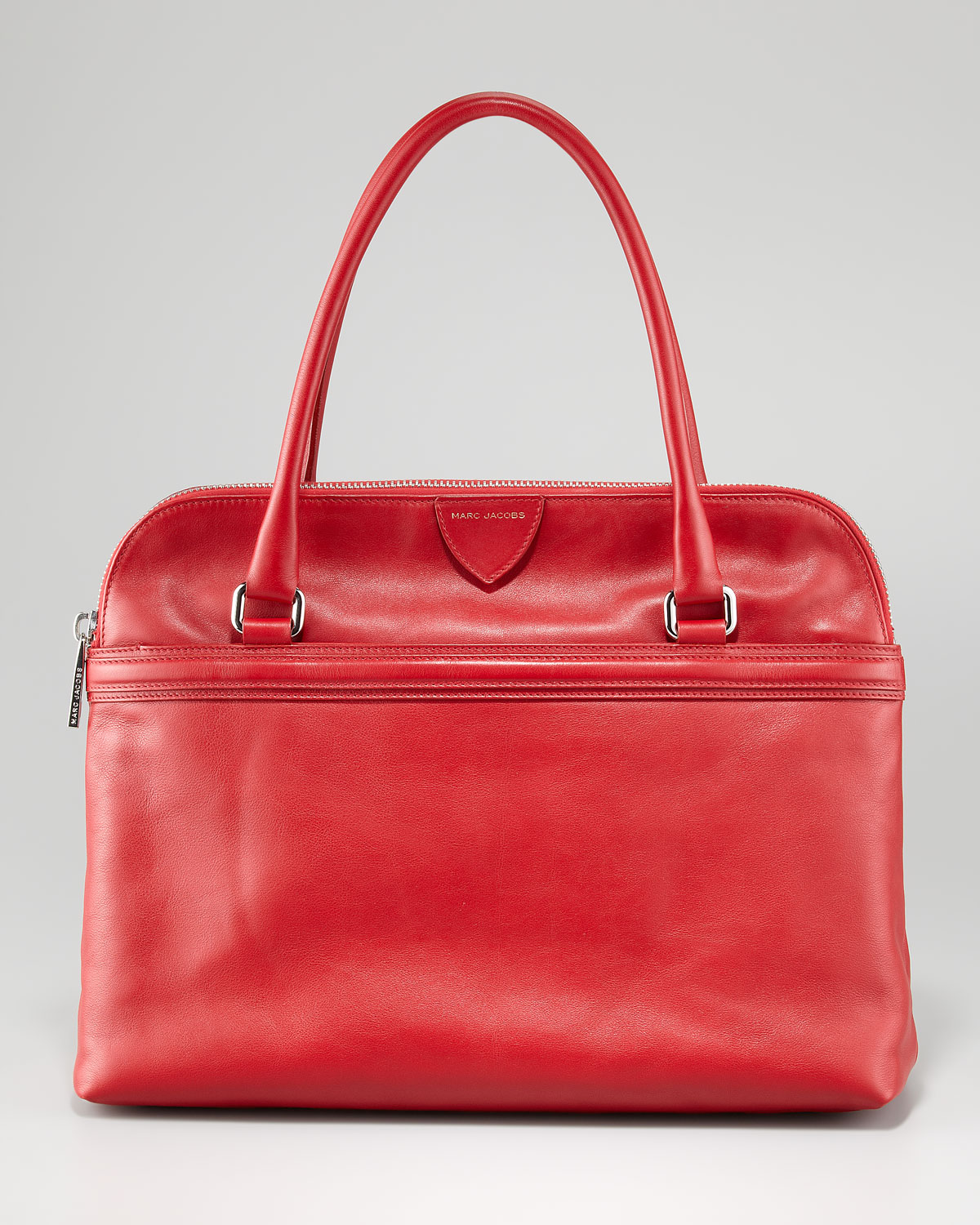 6b45eb6e226c Lyst - Marc Jacobs Raleigh Leather Tote Bag Red in Red