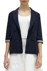 Marni Double Breasted Fitted Jacket - Lyst
