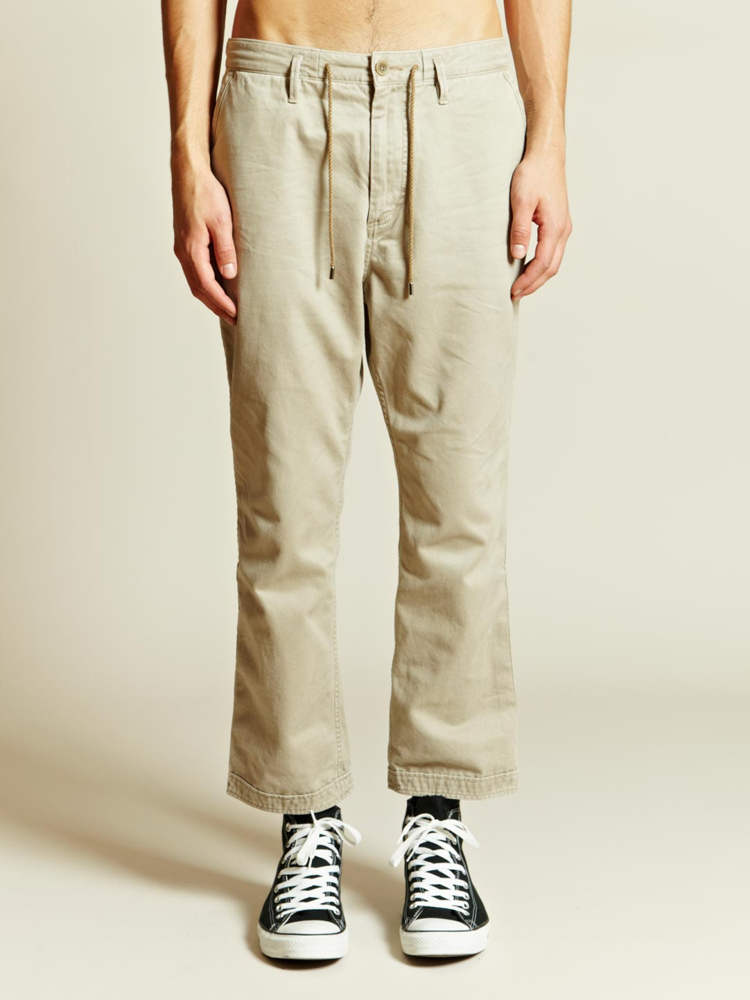 Nonnative Nonnative Mens Dweller Ankle Cut Pants in Natural for ...
