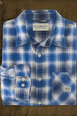 Ralph Lauren Sackett Plaid Ward Shirt - Lyst
