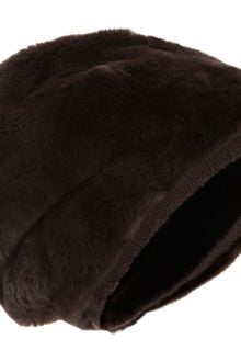 Barneys New York Fur Sock Hat - Lyst