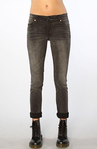 Cheap Monday The Tight Skinny Jean in Wrecking Black in Black