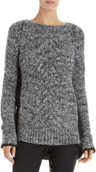 Elizabeth And James Engineered Colorblock Pullover - Lyst