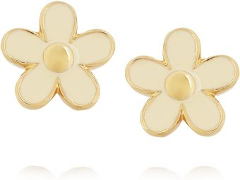 Marc By Marc Jacobs Enameled Daisy Earrings - Lyst