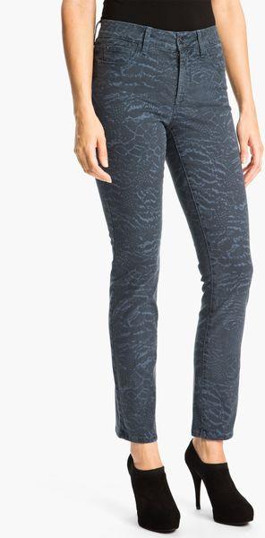 not your daughter 39 s jeans nydj sheri nature collage print. Black Bedroom Furniture Sets. Home Design Ideas